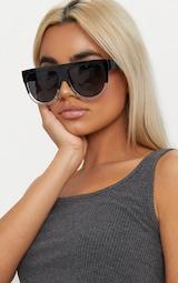 Kristen Black & Clear Frame Sunglasses 1