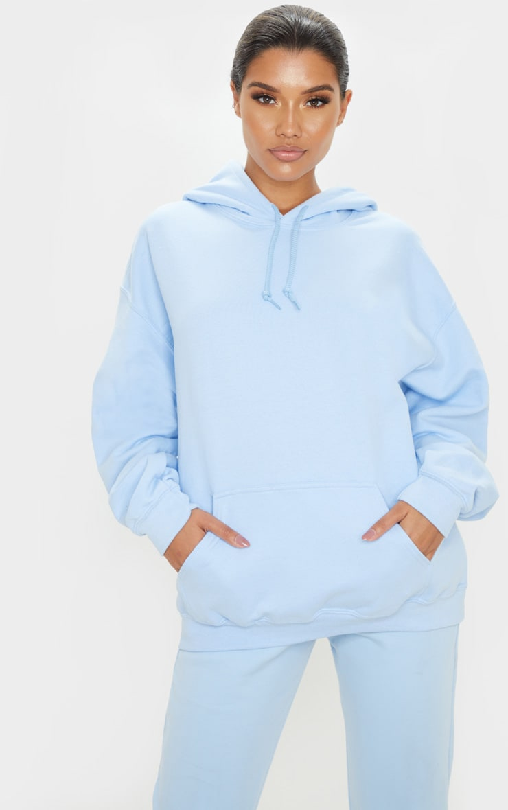 Light Blue Ultimate Oversized Hoodie  1