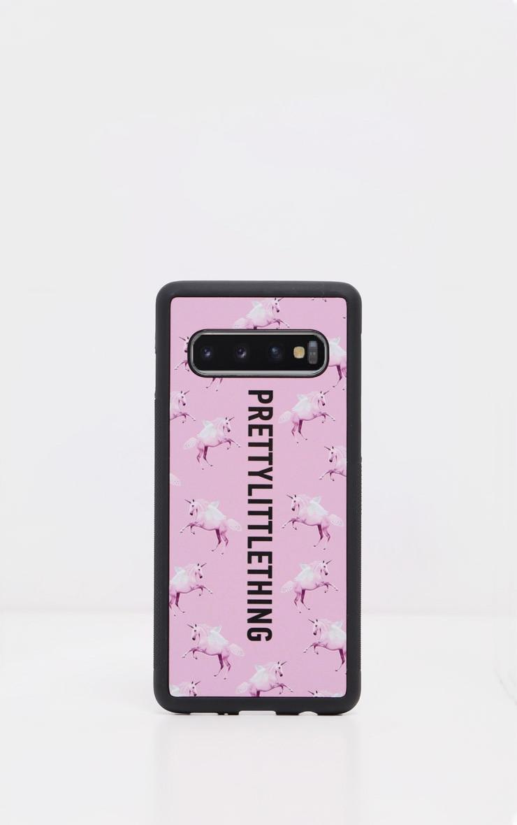 PRETTYLITTLETHING Unicorn Pink Samsung S10 Plus Phone Case 2