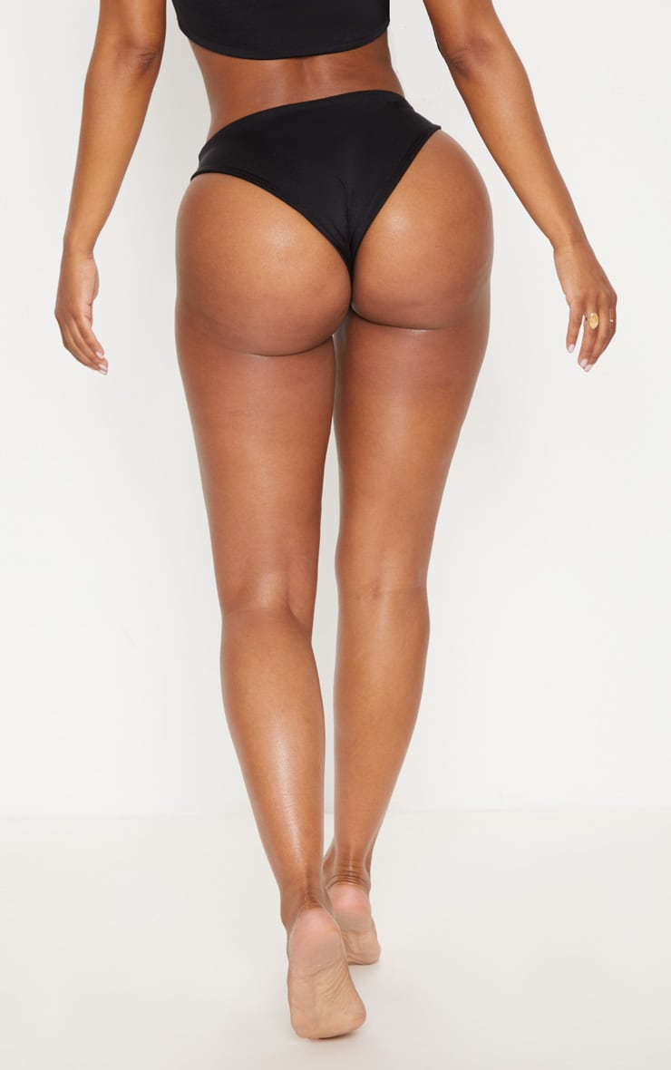 Shape Black Tiny Bikini Bottom 4