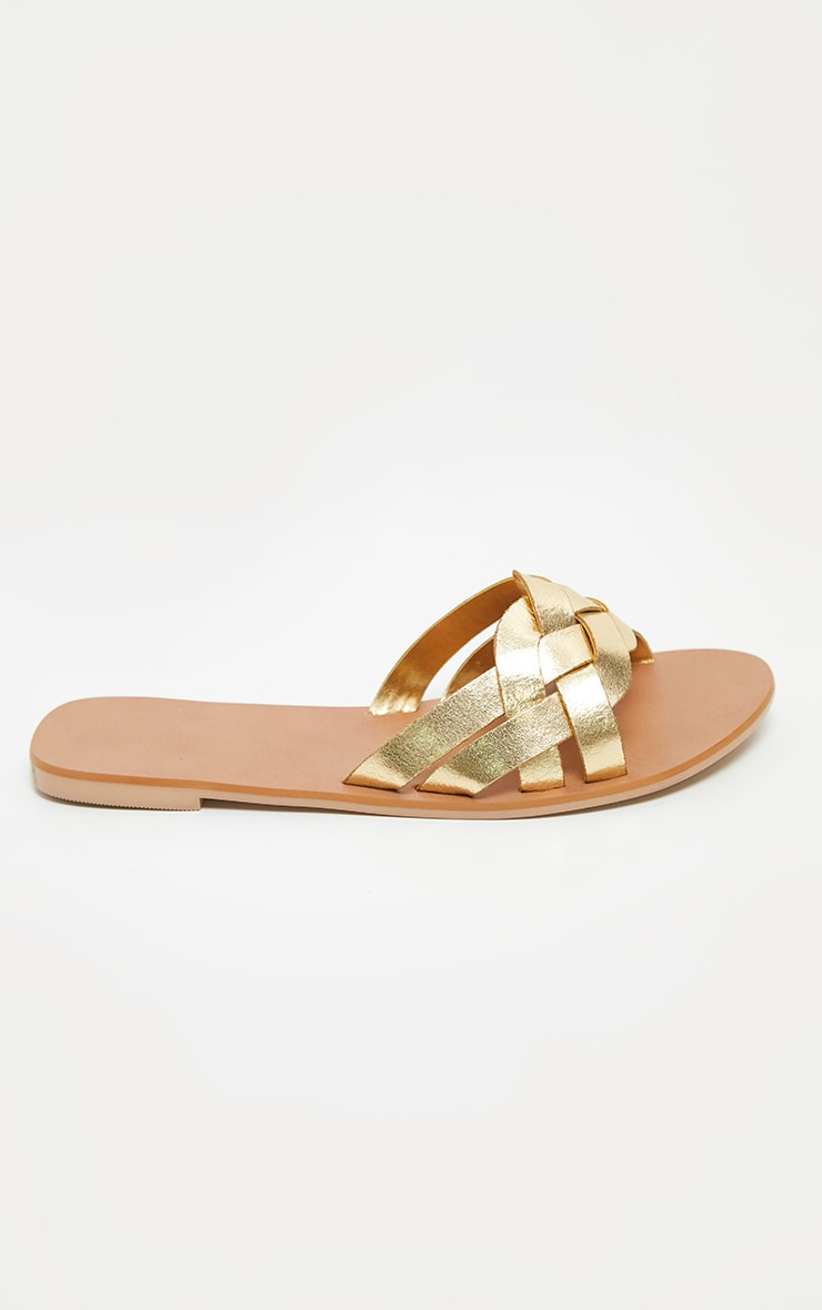 Gold Platted Mule Sandal 4