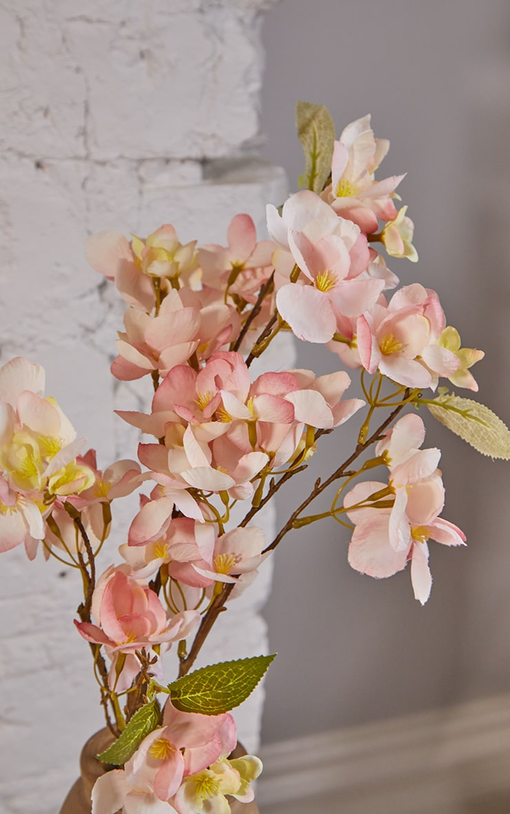 Blush Orchard Blossom Branch Artificial Flower  2