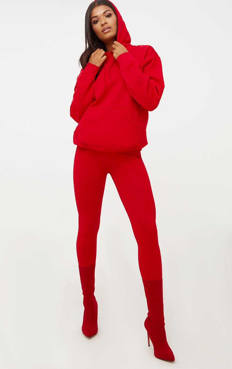 Red Ultimate Oversized Hoodie 4
