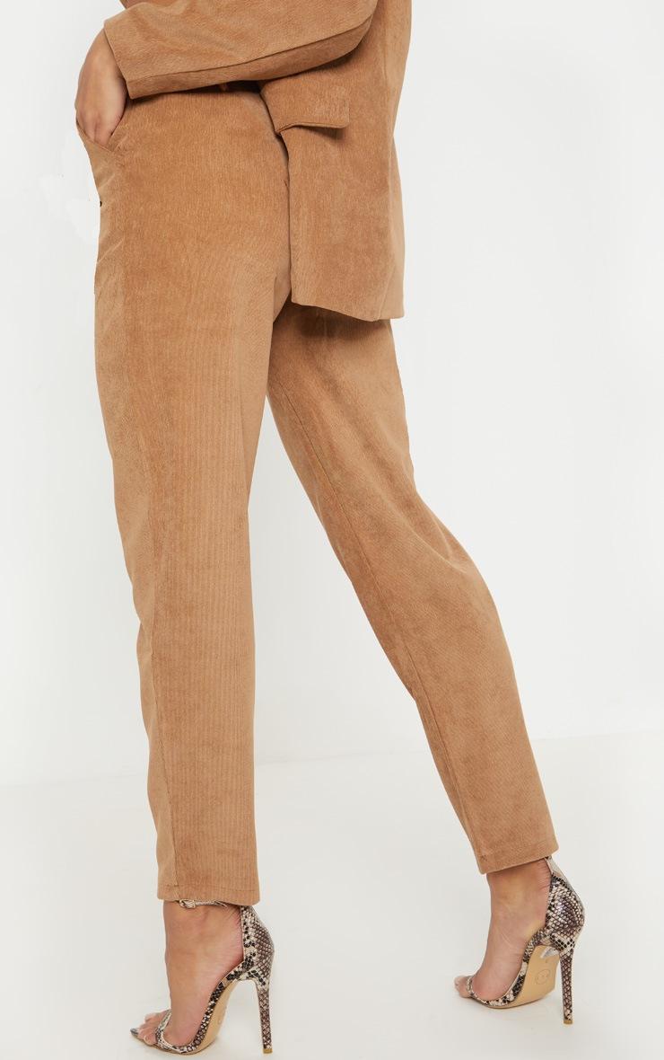 Camel Cord Trouser  4