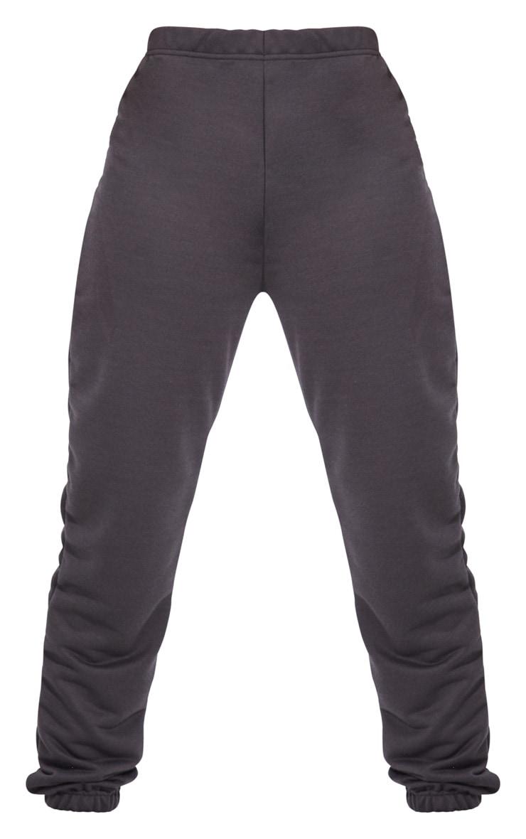 Tall Charcoal Basic Cuffed Hem Joggers 5