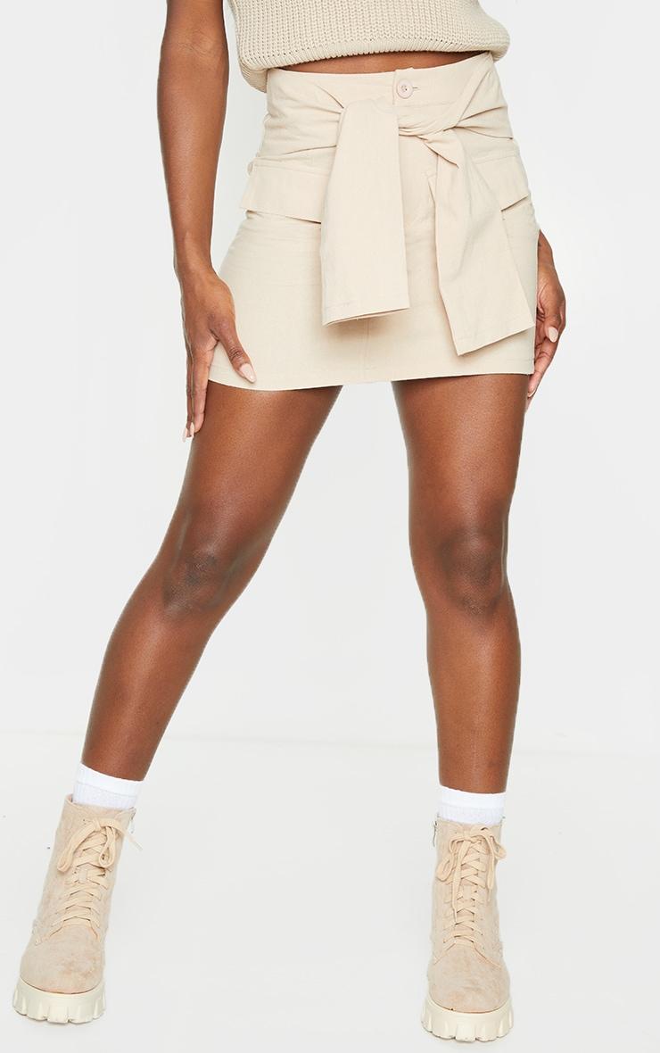 Stone Cargo Extreme Tie Mini Skirt 2