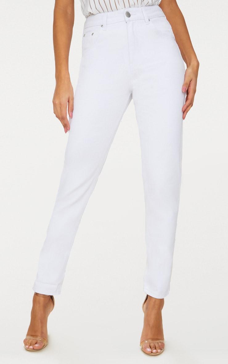 Mom White Jean 4