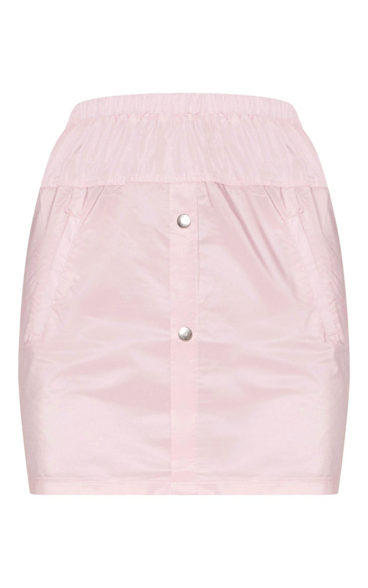 Pink Shell Suit Skirt 3