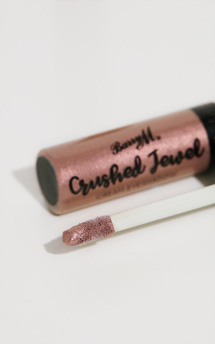 Ombre à paupières crème Crushed Jewel teinte Blissful – Barry M 3