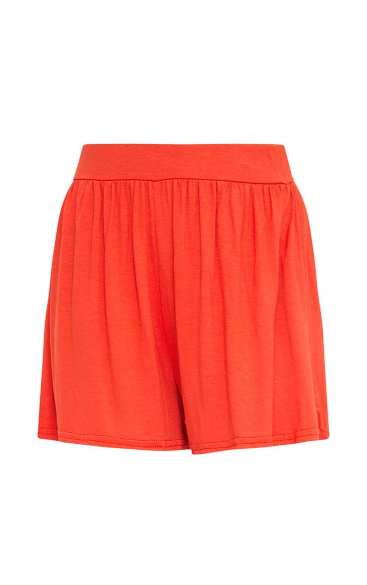 Orange Jersey Floaty Shorts 3