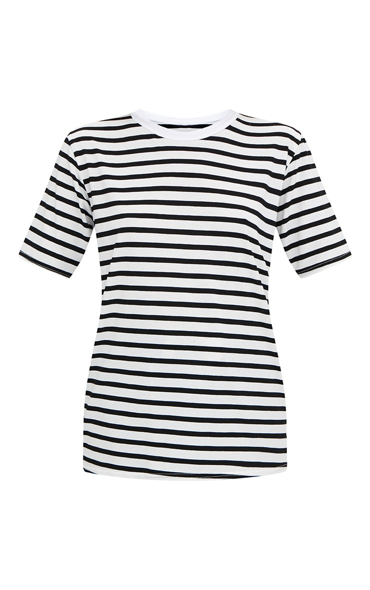 Black Stripe T Shirt  3