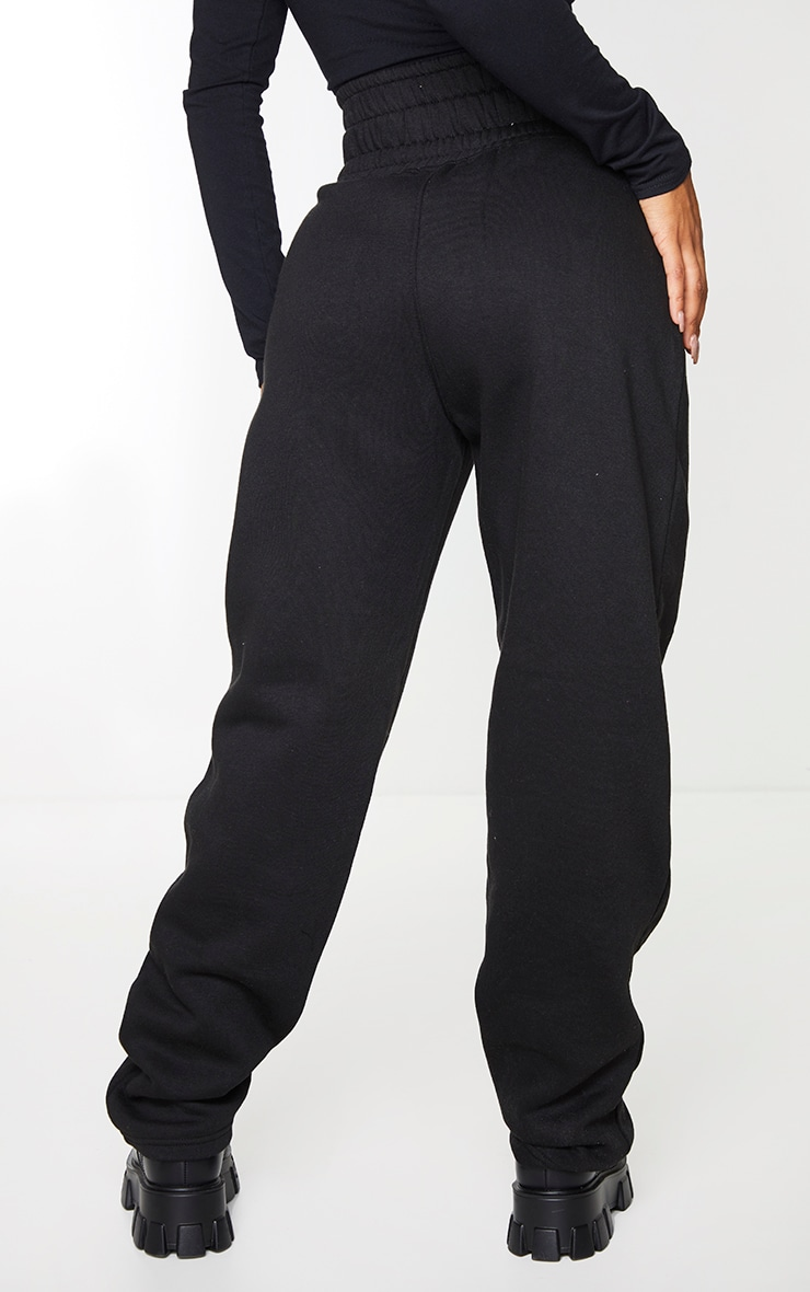 Shape - Jogging ample noir à taille style corset 3