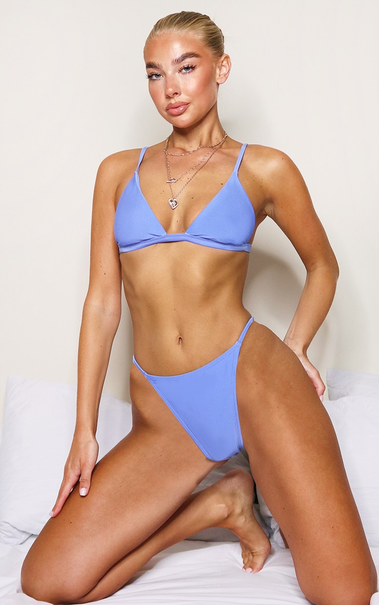 Cornflower Blue Mix & Match Itsy Bitsy Bikini Bottoms 4