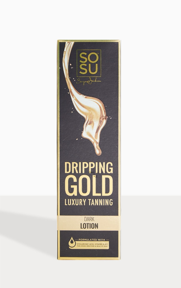 SOSU Dripping Gold Luxury Dark Tan Lotion 2
