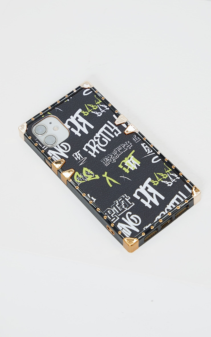 PRETTYLITTLETHING Black Gothic iPhone 11 Case 1