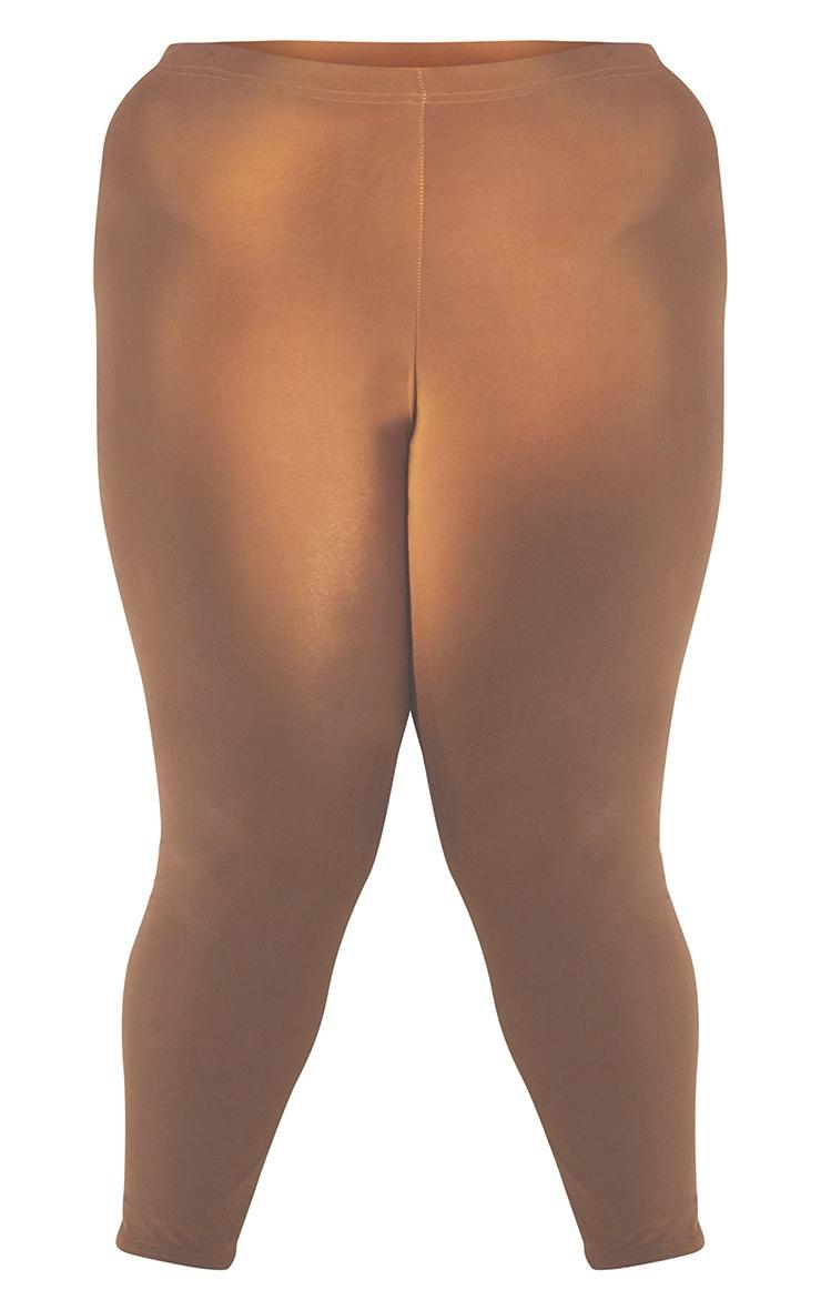 Plus Second Skin Toast High Waist Leggings 5