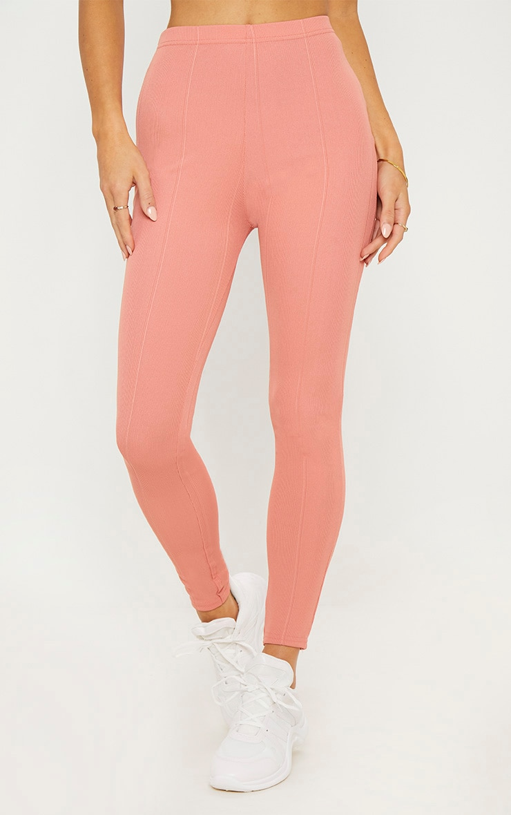 Rose High Waisted Bandage Leggings 2