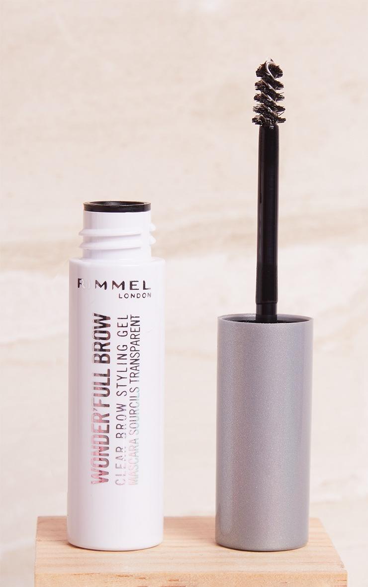 Rimmel Wonder'full 24HR Brow Mascara Clear 3