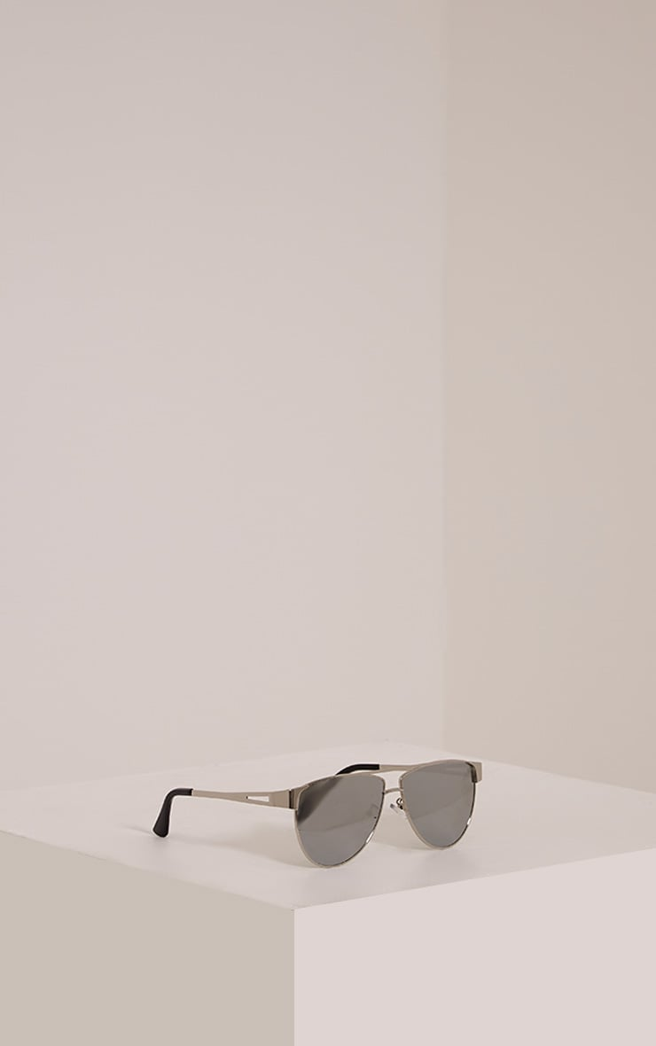 Luanna Silver Mirrored Sunglasses 4