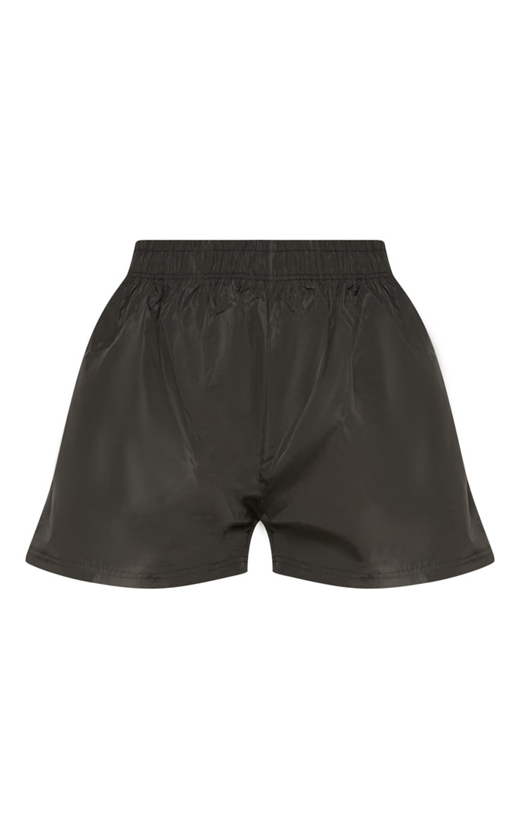 Black Contrast Binding Shell Short 3