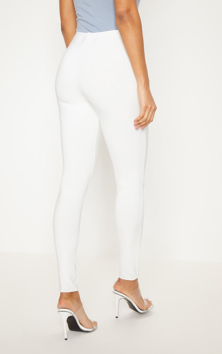Cream Second Skin Slinky Legging 4