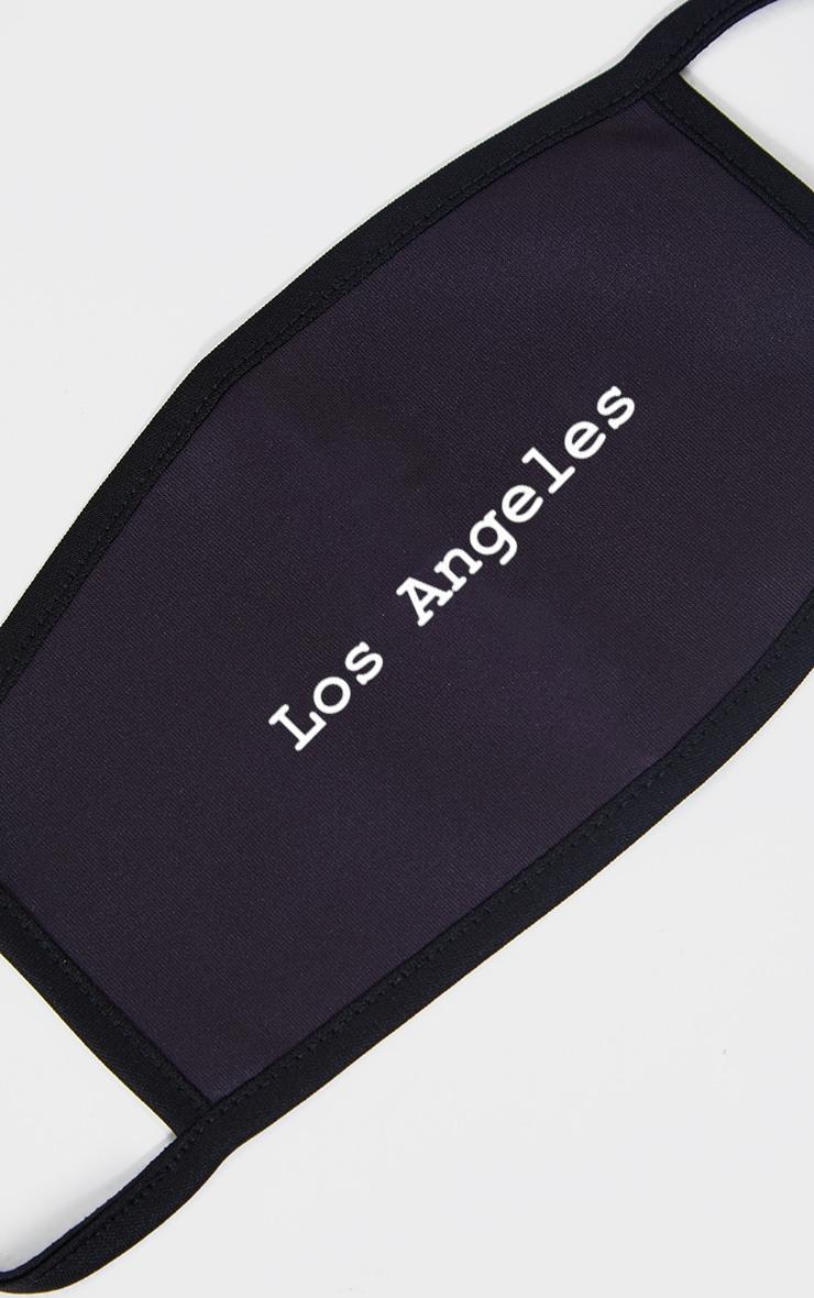 Los Angeles Black Fashion Mask 2