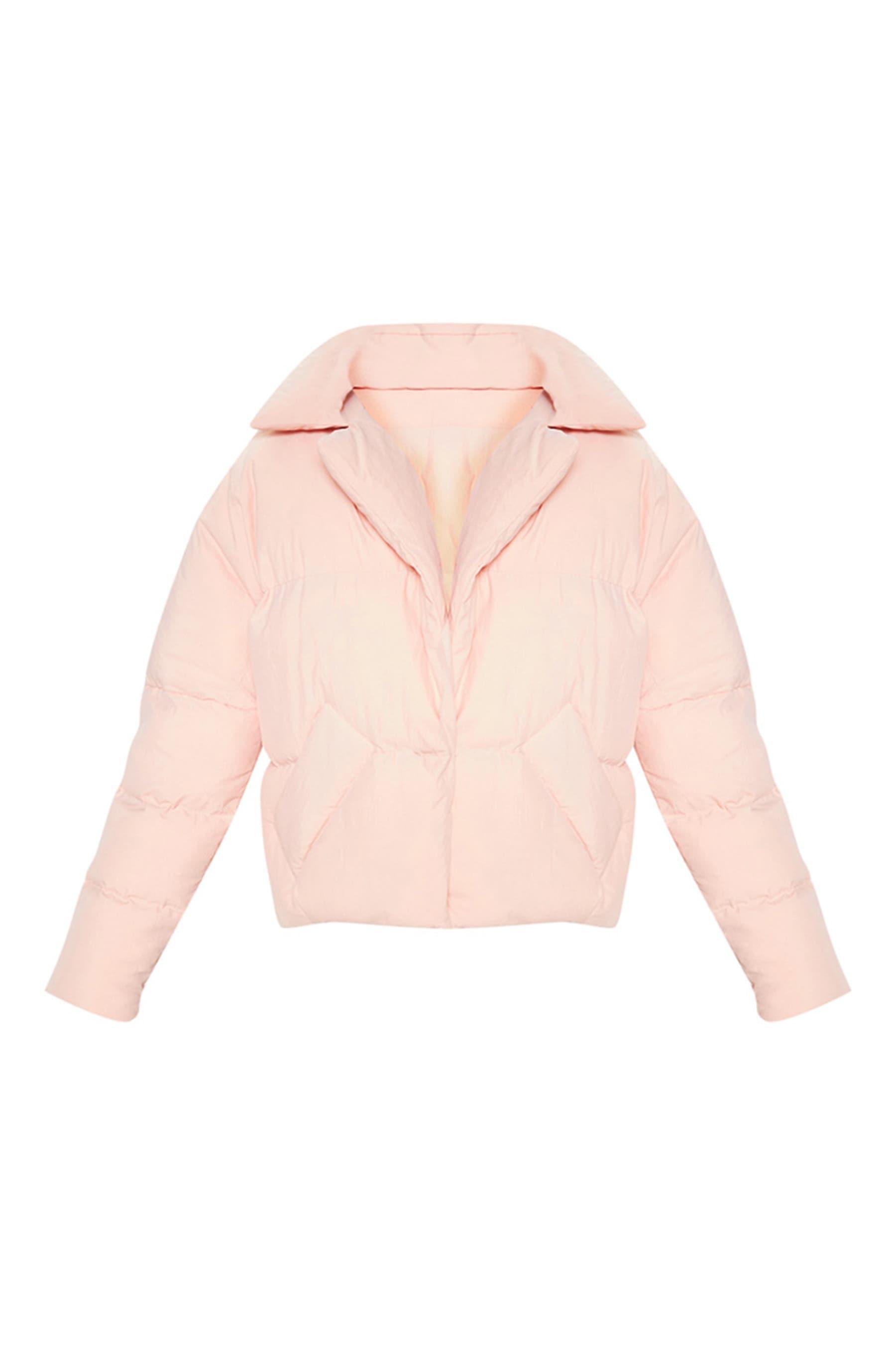 Pink Puffer Coat 4