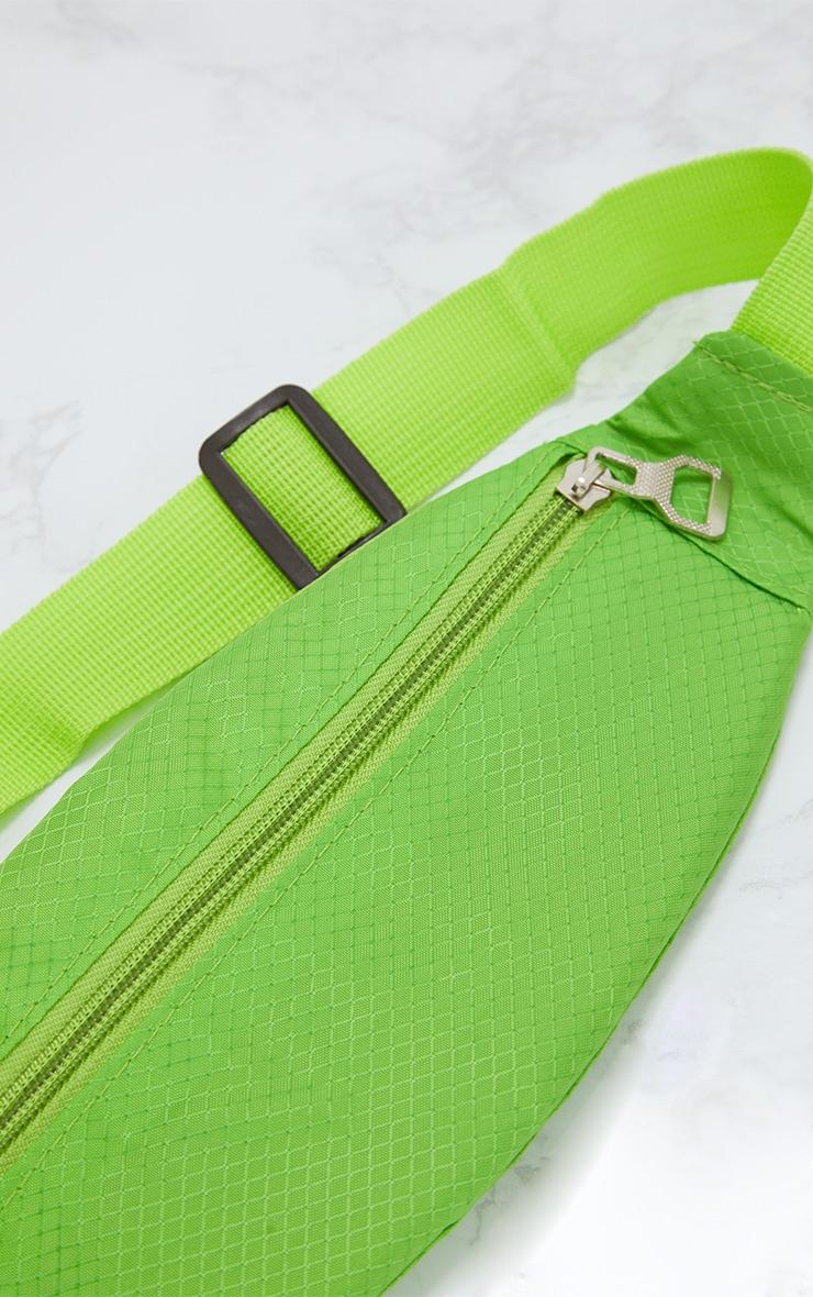 Lime Basic Bum Bag 4