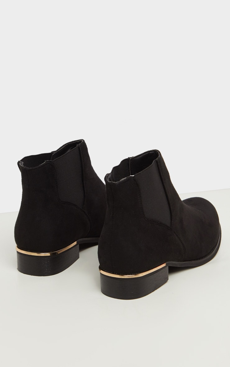 Black Wide Fit Chelsea Boot 4