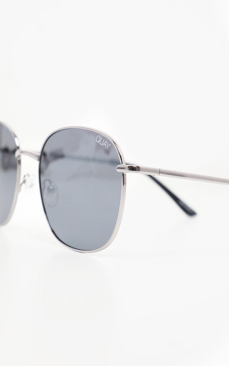 QUAY AUSTRALIA Gunmetal Jezabell Sunglasses 3