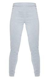 Grey Marl Fleece Joggers 1