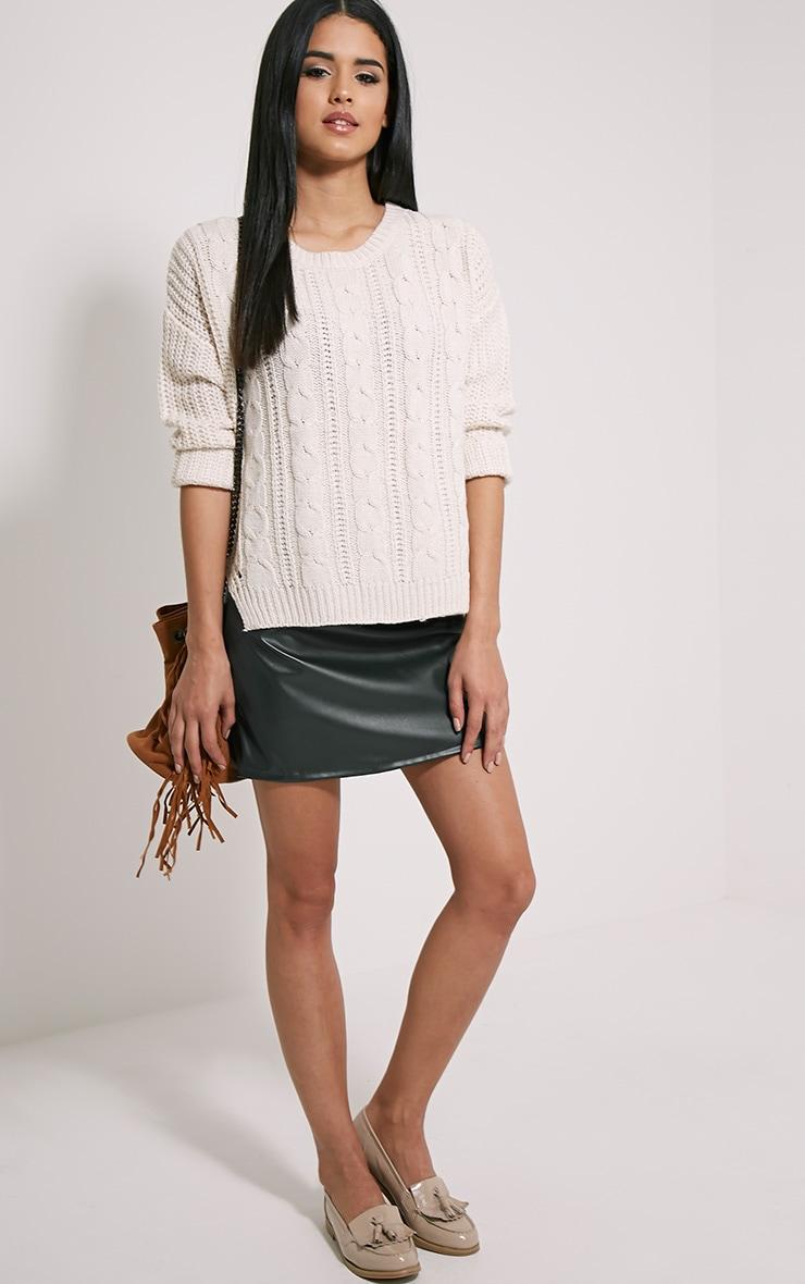 Jada Cream Knitted Jumper 3