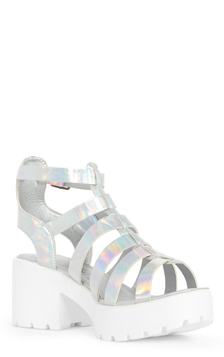 Hanna Metallic Cleated Gladiator Sandal  3