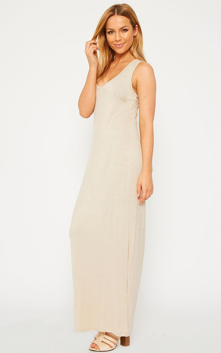 Basic Stone Jersey Maxi Dress 2