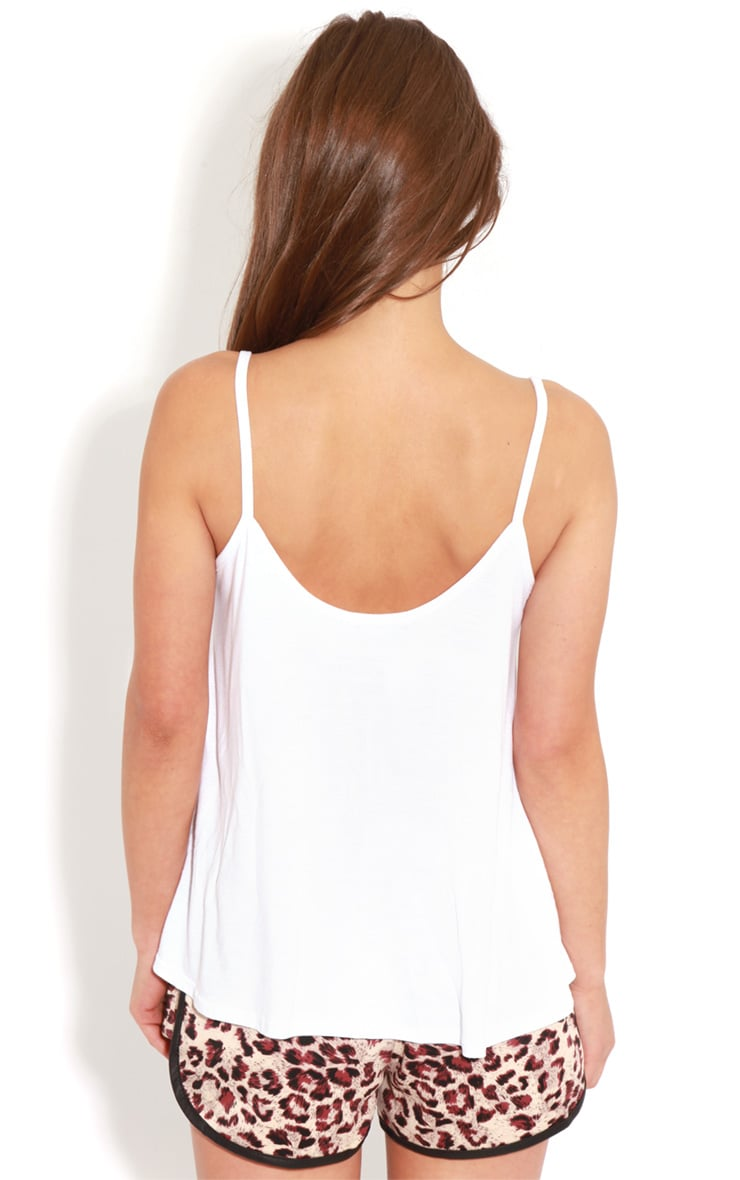 Raegan Jersey Swing Vest Top 2