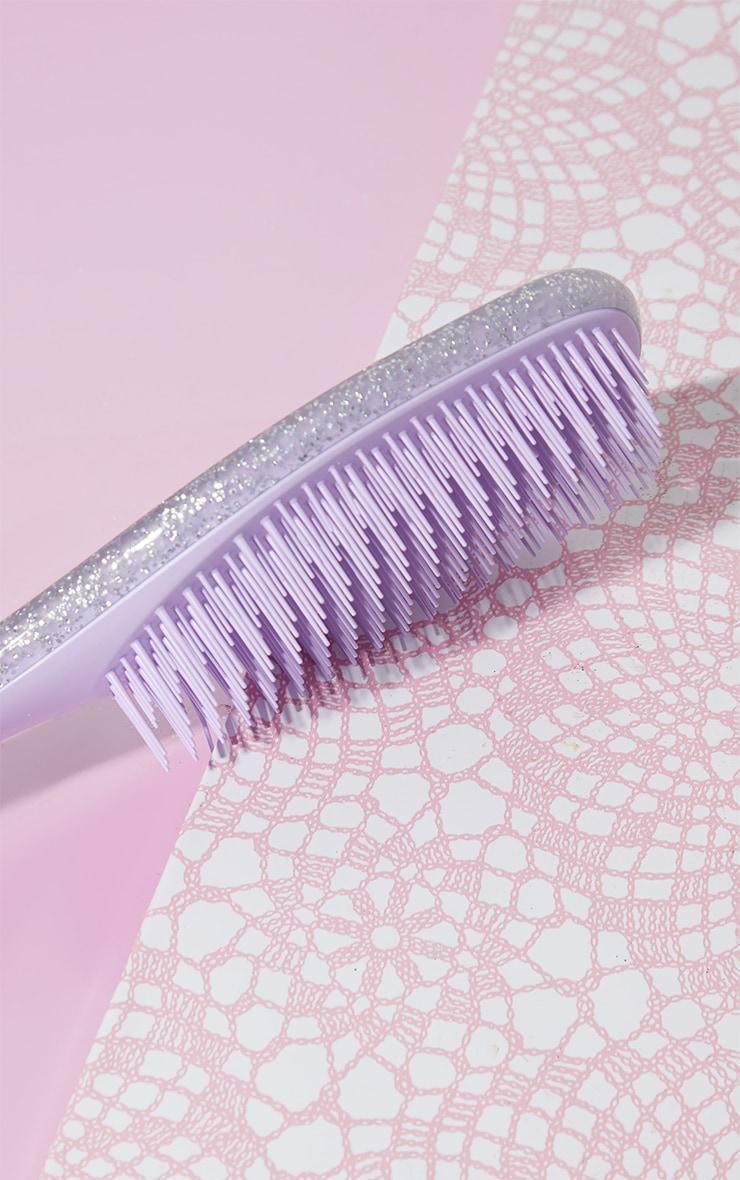 Tangle Teezer The Wet Detangler Hairbrush Iris Sparkle 2