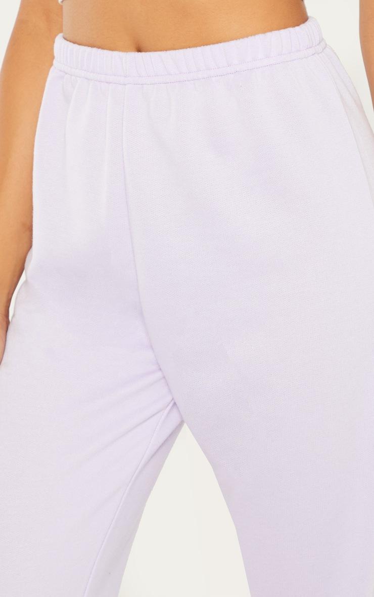 Lilac Basic Cuffed Hem Jogger 4