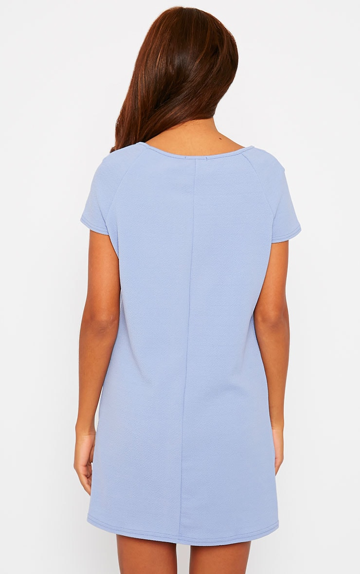 Camila Blue Loose Fit Shift Dress 2