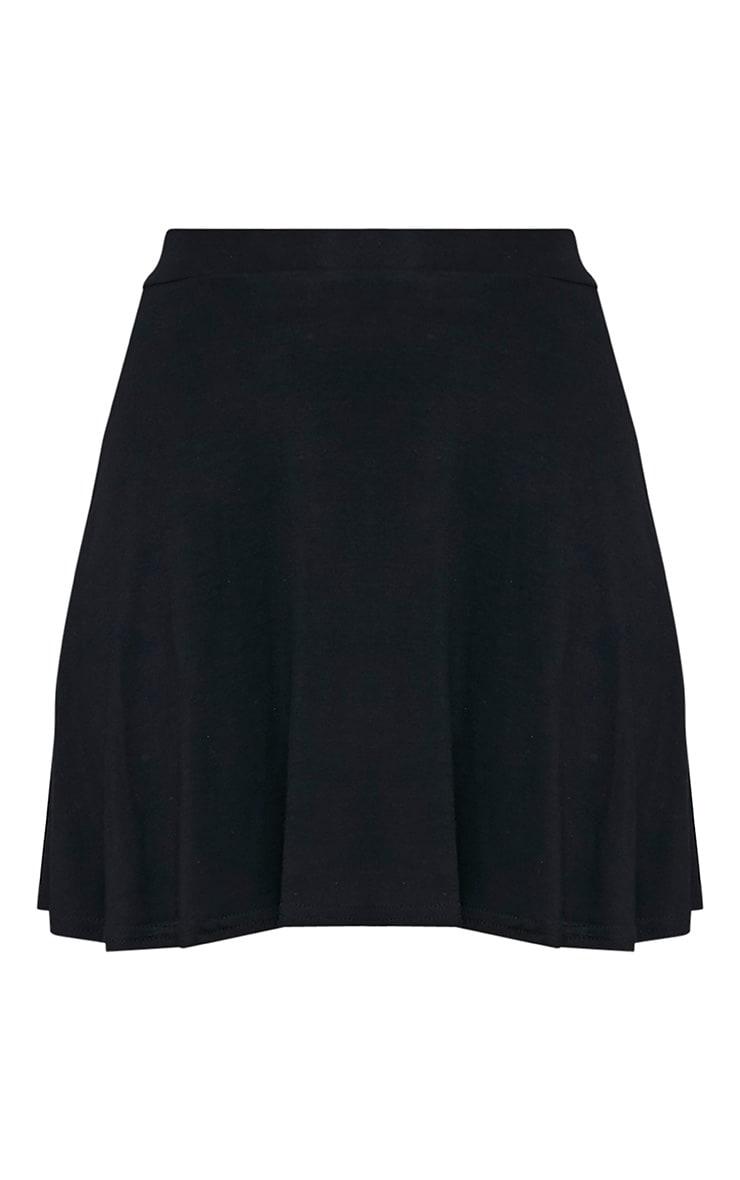 Basic jupe patineuse noire 3