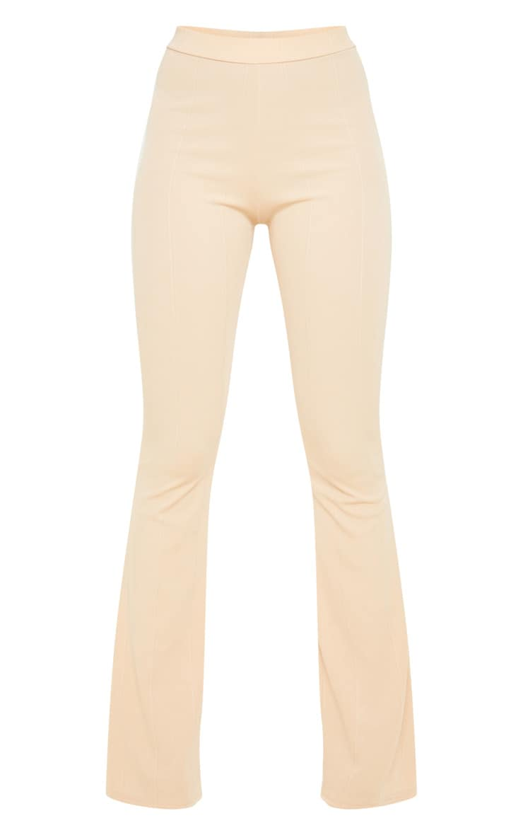 Fawn Bandage Flared Trouser 3