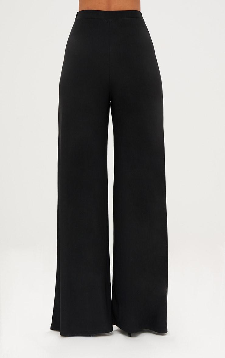 Jill Black Slinky Palazzo Trousers 4