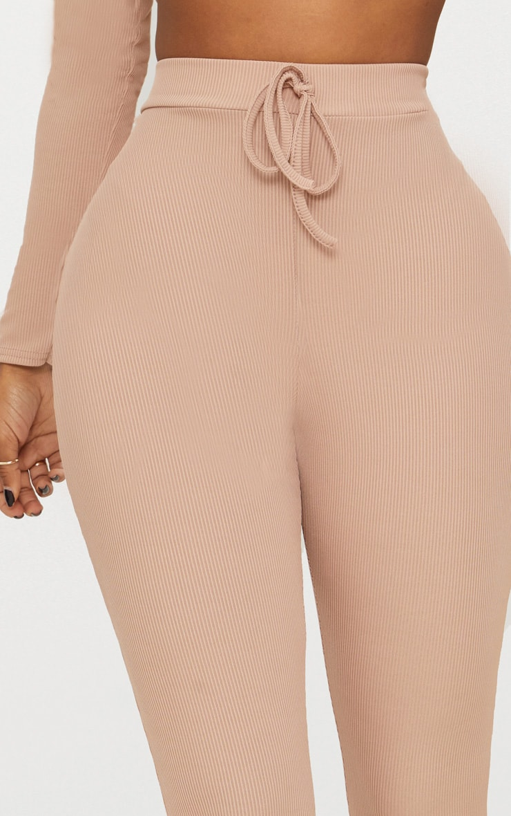 Shape Nude Ribbed High Waist Leggings 5