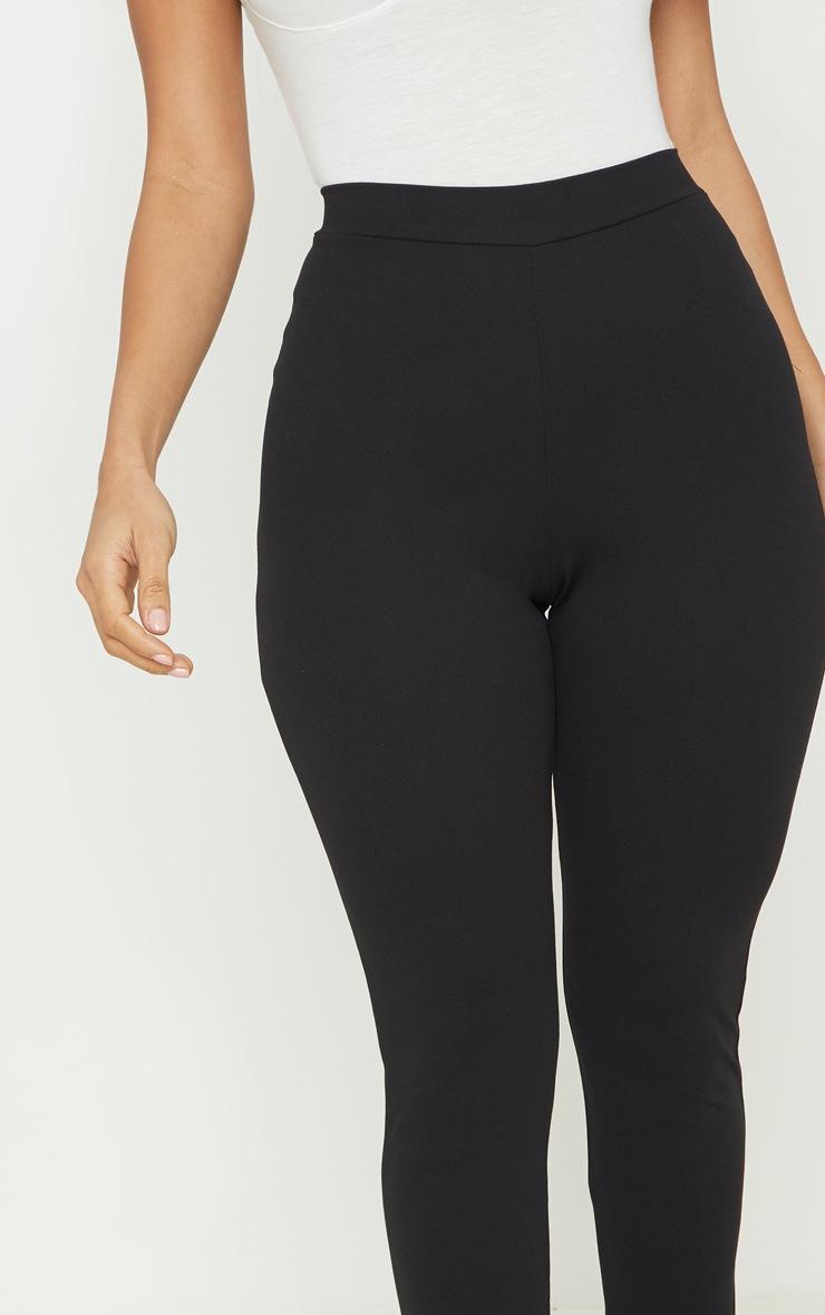 Black Contour Seam Legging  5