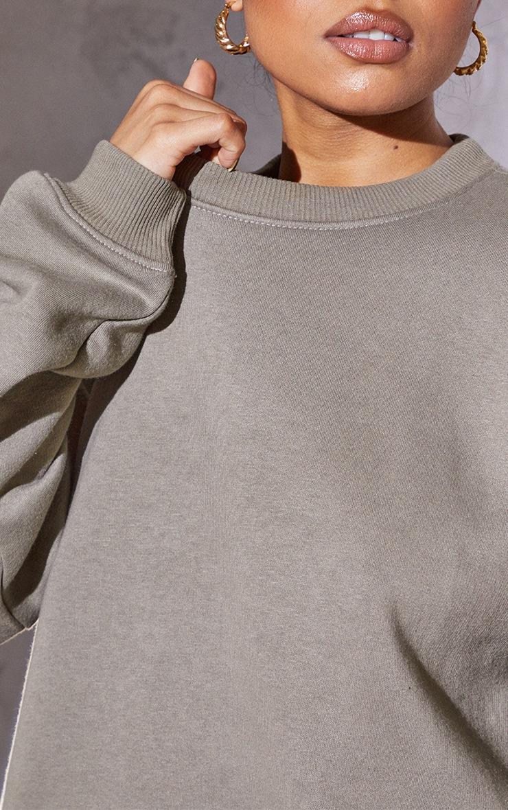 RENEW Petite Light Khaki Ultimate Sweatshirt 4