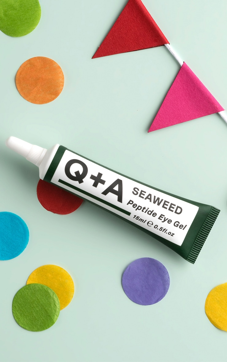 Q+A Seaweed Peptide Eye Gel 1