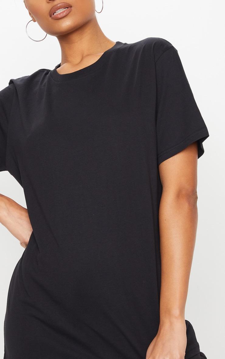 Black Organic T Shirt 4