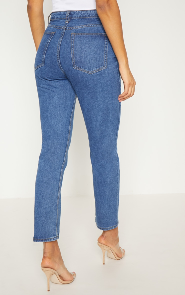 Dark Wash  Mom Jean  4