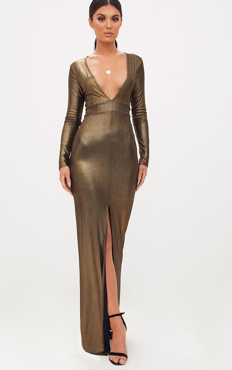 Long Metallic Dresses