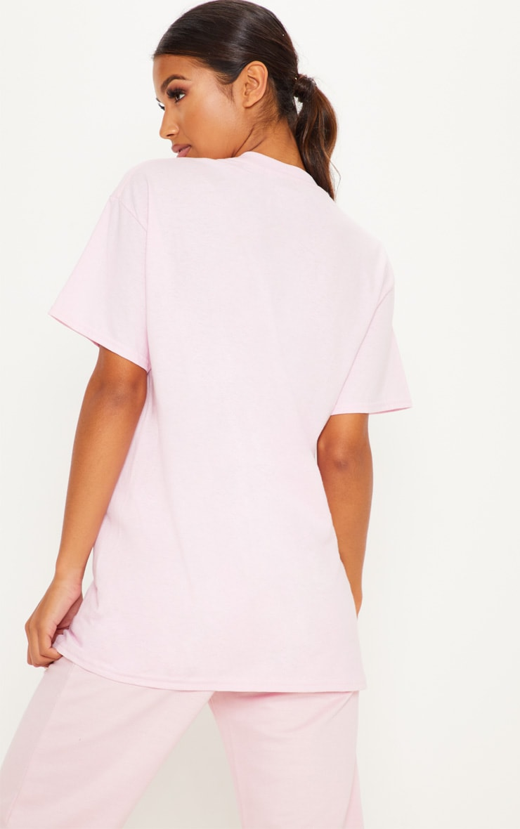 Ultimate Light Pink Oversized T Shirt 2