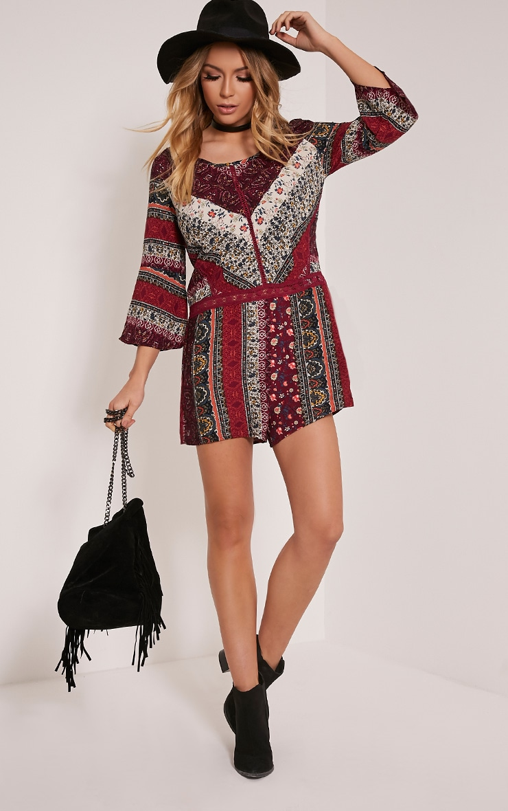 Abby Berry Printed Playsuit 5